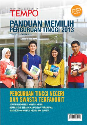Panduan Memilih Perguruan Tinggi 2013