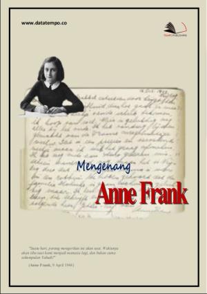 Mengenang Anne Frank