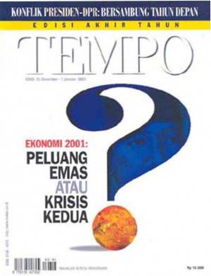 Ekonomi 2001: Peluang Emas Atau Krisis Kedua