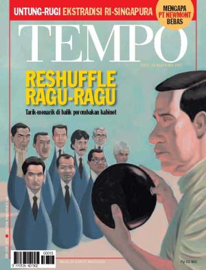 Reshuffle Ragu-Ragu