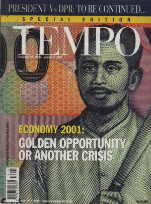 Economy 2001: Golden Opportunity Or Another Crisis