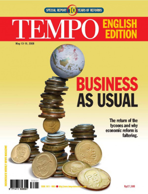 BUSINESS AS USUAL. The return of the tycoons and why economic reform is faltering.
