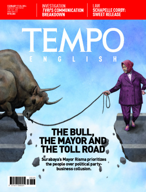 The Bull, The Mayor And The Toll Road