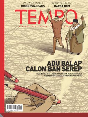 Adu Balap Calon Ban Serep