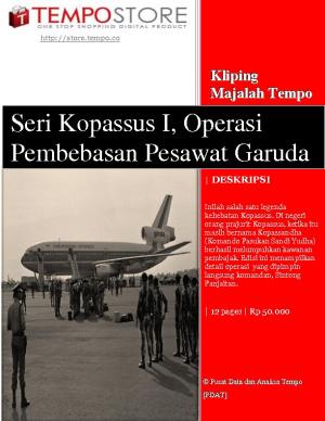 Seri Kopassus I, Operasi Pembebasan Pesawat Garuda