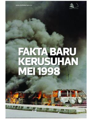 Fakta Baru Kerusuhan Mei 1998