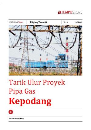 Tarik Ulur Proyek  Pipa Gas Kepodang