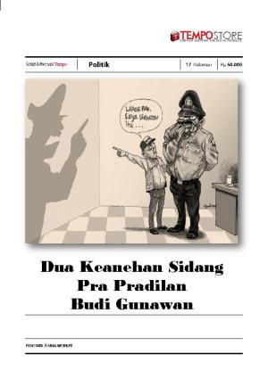 Dua Keanehan Sidang Pra Pradilan Budi Gunawan