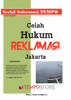 Celah Hukum Reklamasi Jakarta