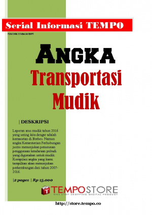 Angka Transportasi Mudik