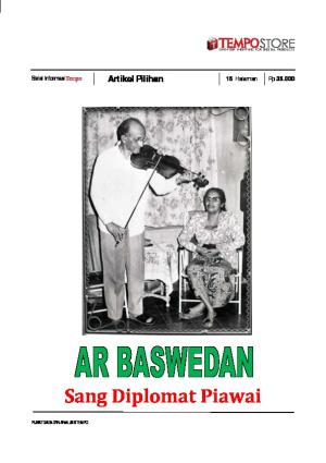 AR Baswedan Sang Diplomat Piawai
