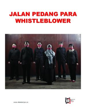 Jalan Pedang Para Whistleblower